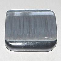 """Магніт-підхоплення для штор та тюлей на стрічці """"Квадрат"""" (сірий перламутр), фото 1"""