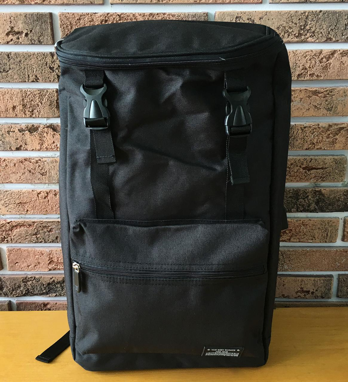 Городской рюкзак с USB-портом, универсальный рюкзак для работы, учебы, ноутбука, путешествий, черный
