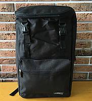 Городской рюкзак с USB-портом, универсальный рюкзак для работы, учебы, ноутбука, путешествий, черный, фото 1
