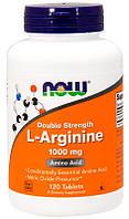Аргінін Now Foods L-Arginine 1000 мг (120 таблеток) (105548) Фірмовий товар!
