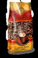 Кава в зернах Leonardo 1 кг