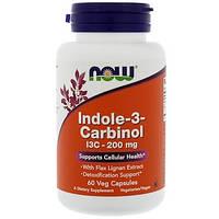 Индол 3 Карбинол Now Foods Indole-3-Carbinol I3C 200 мг 200 мг (60 желатиновых капсул)