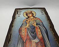 Икона Святой Варвары 17х21х2