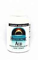Препарат для восстановления суставов и связок Source Naturals Hyaluronic Acid 100 мг (30 таблеток)