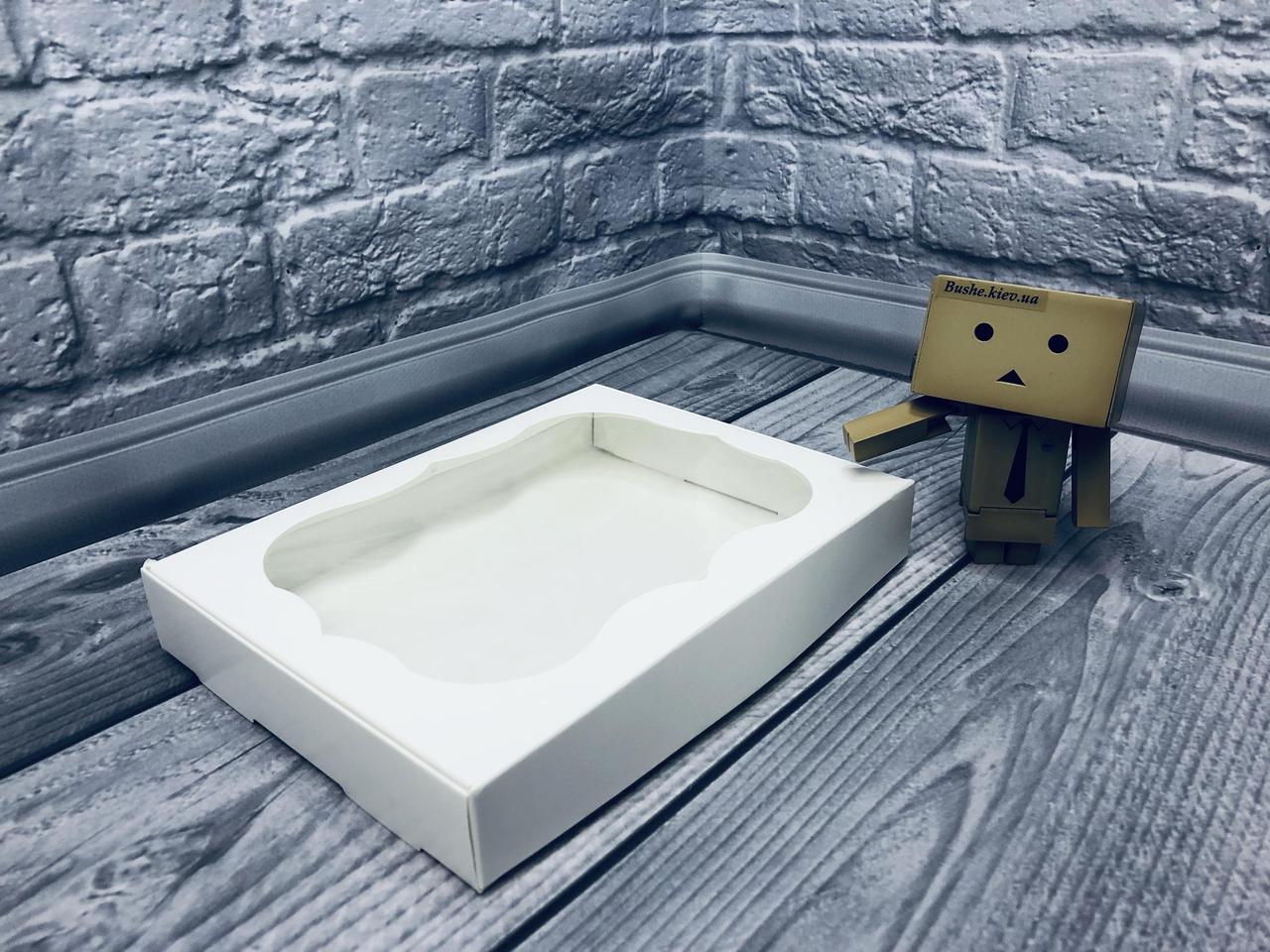 *10 шт* / Коробка для пряников / 150х200х30 мм / Белая / окно-обычн
