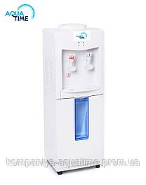 Кулер з електронним охолодження та сховищем для стаканів Aquatime CH118E