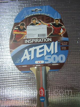 Ракетка для настольного тенниса Atemi 400, фото 2