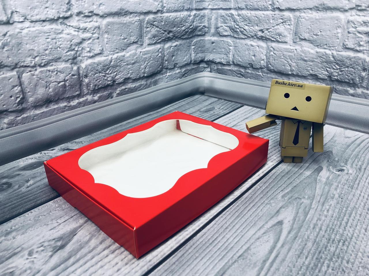 *10 шт* / Коробка для пряников / 150х200х30 мм / печать-Красн / окно-обычн