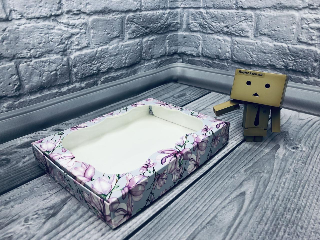 *10 шт* / Коробка для пряников / 150х200х30 мм / печать-Магнол / окно-обычн / лк / цв