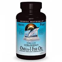 Натуральная Омега 3 из Рыбьего Source Naturals ArcticPure Жира Ultra Potency Omega 3 Fish Oil 850 мг (30 желатиновых капсул)