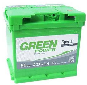 Автомобильный аккумулятор Green Power 6СТ-50