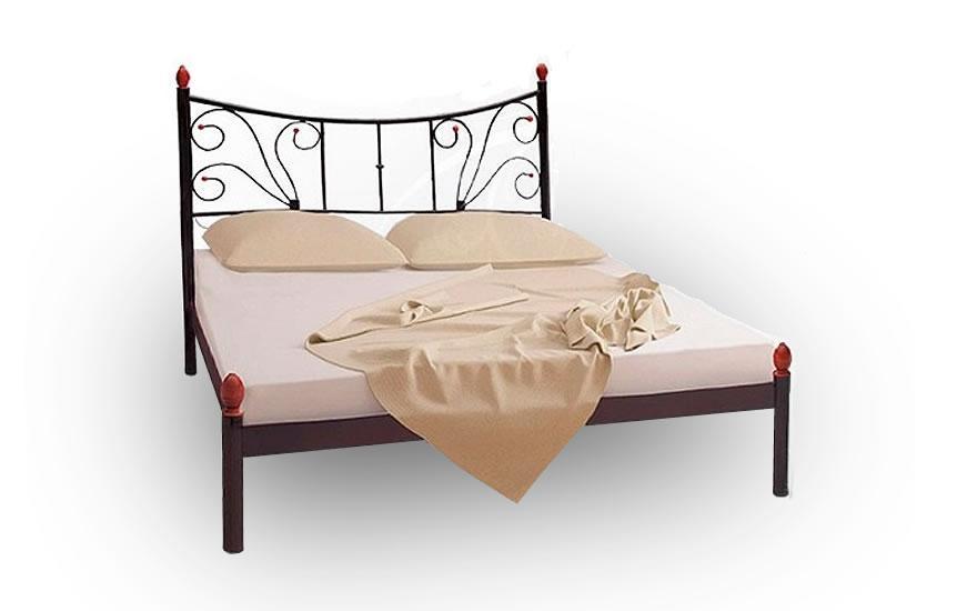 Кровать Металл-Дизайн Калипсо-2 Коричневый