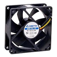 Вентилятор Chieftec Thermal Killer AF-0825S, 80мм, 2000 об/мин, 3pin/Molex, 26dBa