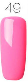 Гель-лак для ногтей маникюра 7мл Rosalind, шеллак, розовый 49, фото 2
