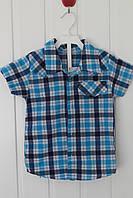 Рубашка для мальчика 1-2 года  (92-98)