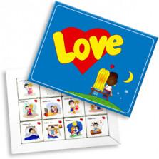 Шоколадный набор Love is 60 г (1.028)