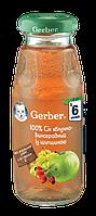 """Сок """"Gerber"""" яблочно-виноградный с шиповником 175 мл"""