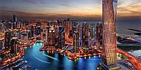 Фотообои Дубаи № 33- 392*204 см