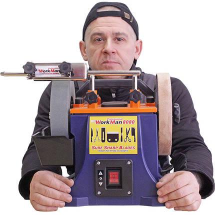 Шлифовально-полировальный станок WorkMan 8080, фото 2