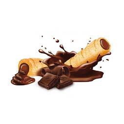 Трубочки кукурузные с начинкой со вкусом шоколада Супер Хруст LONG 1,5 кг