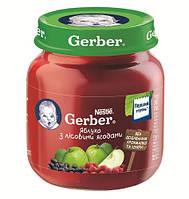 """Пюре """"Gerber"""" Яблоко с лесными ягодами 130 г"""