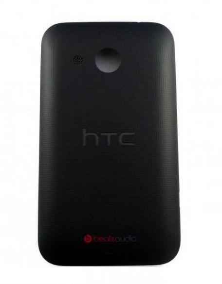Кришка батареї для телефону HTC Desire 200 Black 74H02478-01M