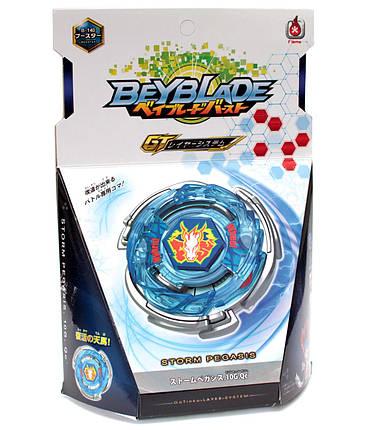 Волчок Бейблэйд Шторм Пегас Пегасис Бейблейд Beyblade Storm Pegasis в комплекте с пусковым устройством (B-140), фото 2