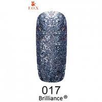 FOX Brilliance gold 017 5 ml (гель-лак)