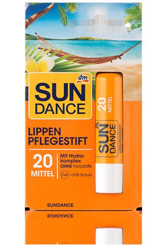 SunDance Lippenpflegestift LSF 20 Гигиеническая помада для защиты кожи губ от солнца 4,8g