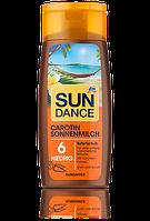 SunDance Carotin Sonnenmilch LSF 6 Молочко для загара с Каротином 200ml