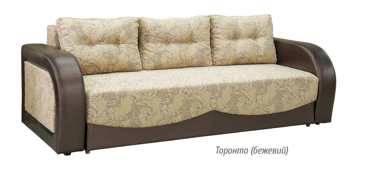 Диван раскладной Цезарь (2 варианты оббивки) Мебель-сервис