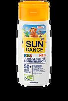 SunDance MED KIDS Ultra Sensitive Sonnenmilch LSF 50+ Молочко для защиты сверх чувствительной детской кожи от солнца 200ml