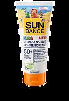 SunDance MED KIDS Ultra Sensitive Sonnencreme LSF 50+ Крем для защиты сверх чувствительной детской кожи от солнца 100ml