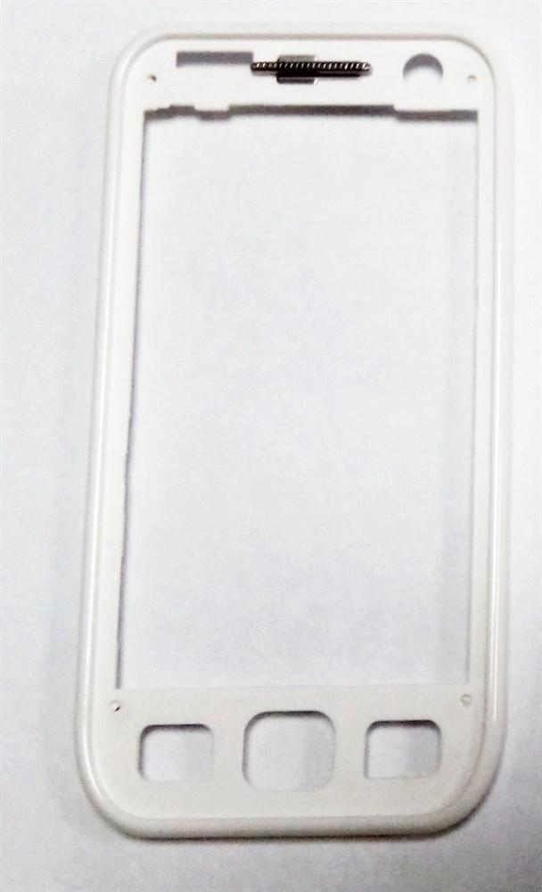Передня панель для телефону Samsung S5250 Wave525 Pearl White GH98-17542B