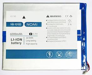 Акумулятор (батарея) NB-10100 Nomi W10100 Deka 1-W10100-2-01-1 (6000 mah)