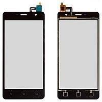 Сенсорная панель черная телефона Nomi i5010 EVO M 1-005010-1-40-1