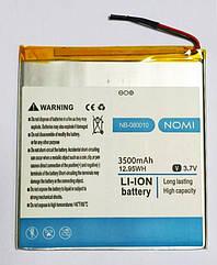 Акумулятор (батарея) NB-080010 планшета Nomi C080010 Libra 2 1-080010-2-01-1 (3500 mah)