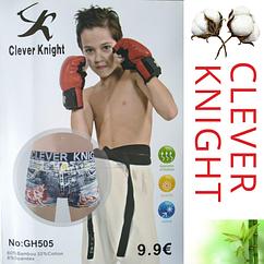 Детские подростковые боксеры GH505 Clever Knight от 6 до 15 лет в упаковке ТДБ-29100