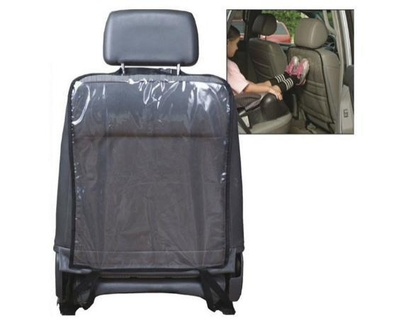 Захисна накидка на спинку сидіння в авто (чорний)