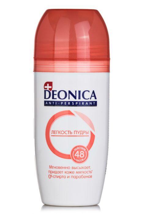 Шариковый Дезодорант-Антиперспирант Deonica Легкость пудры 50 мл