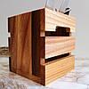 """Коробочка для столових приборів """"Кантрі Міні"""" Берест/Черешня Lasco 6205b-SCL, фото 3"""