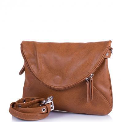Сумка-клатч Amelie Galanti Женская сумка из качественного кожезаменителя AMELIE GALANTI (АМЕЛИ ГАЛАНТИ) A956701-brown
