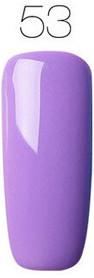 Гель-лак для ногтей маникюра 7мл Rosalind, шеллак, фиолетовый 53