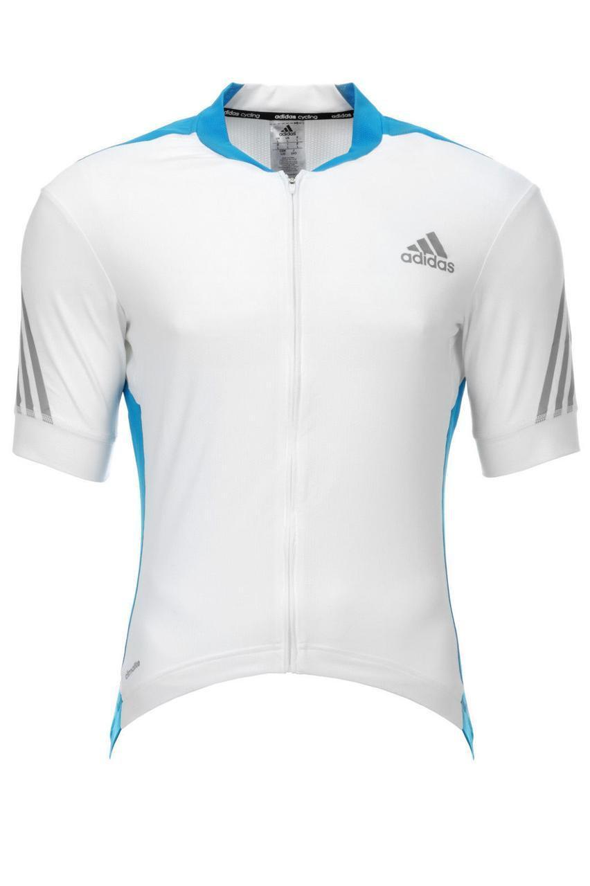 Велофутболка мужская Adidas Herren Radtrikot Sportshirt, размер XXL