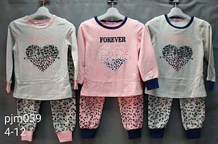 Детская пижама для девочек Forever. Венгрия. 4-12 лет