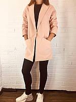Пальто женское демисезонное 208 пудра