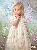 Схема для вышивки бисером Малышка
