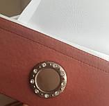 Японские панельки Чашечка кофе,  1,50-1,65м терракот, фото 2