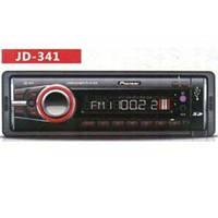 Автомагнитола Pioneer JD341 съемная панель, SD, USB, AUX