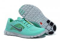 Кроссовки женские Nike Free Run Plus 3 (найк фри ран, кроссовки для бега, nike free, оригинал) бирюзовые